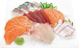 Sashimis à la Carte ( Servies par 10 Tranches )